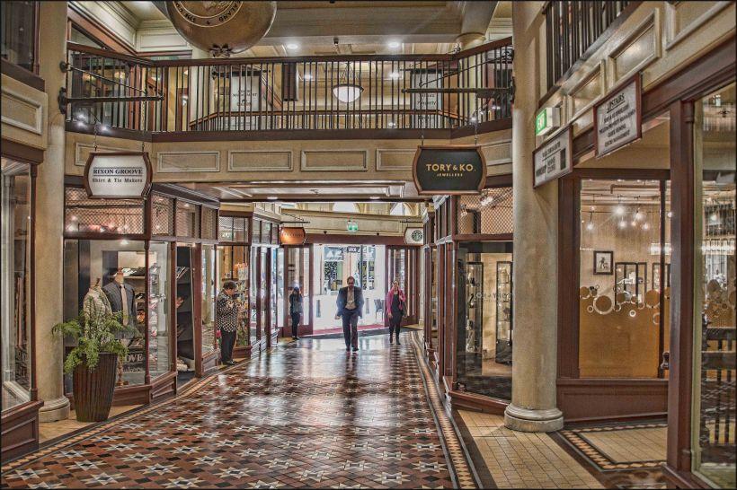 old bank arcade