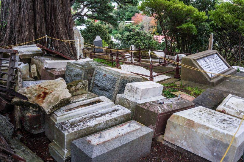 broken graves