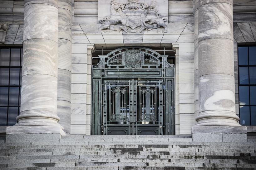 parliament door